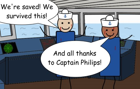 The legend of Captain Philips by Pipanni