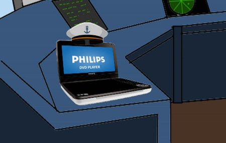 A lenda do Capitão Philips by Pipanni