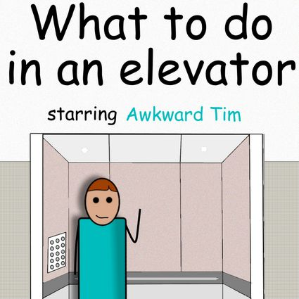 What to do in an elevator by Pipanni