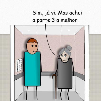 O que fazer num elevador by Pipanni