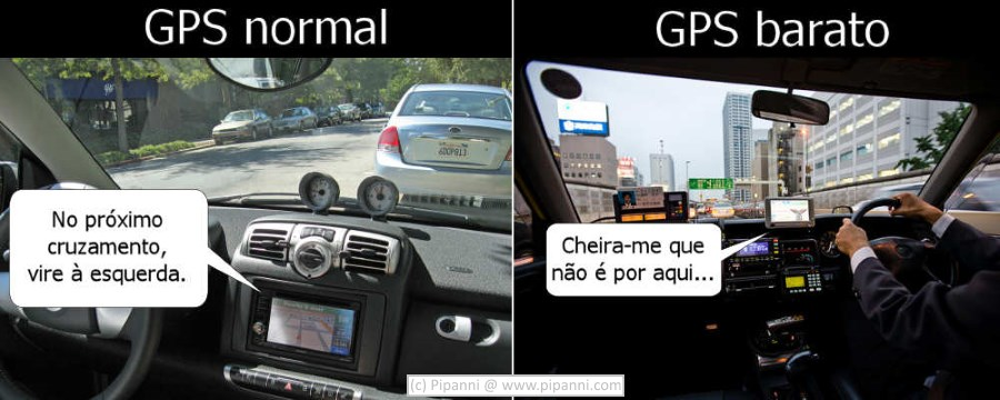 GPS normal vs GPS barato