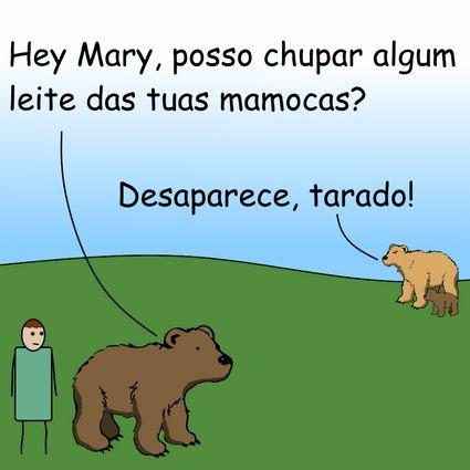 Leite e ursos by Pipanni