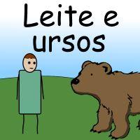 Leite e ursos