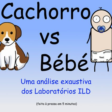 Cachorro vs Bébé by Pipanni