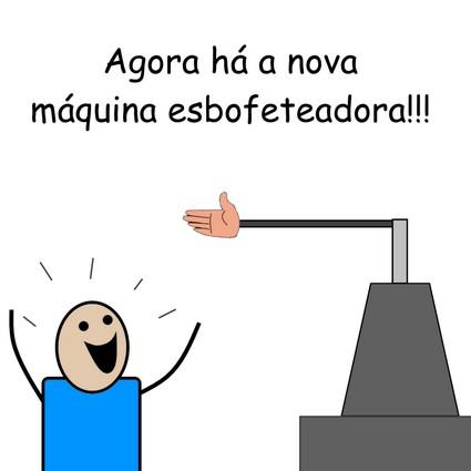 Máquina esbofeteadora by Pipanni