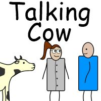 Talking cow