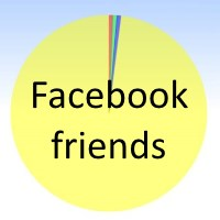 What's it like to have lots of Facebook friends.